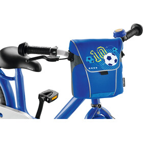 Puky LT 2 Handlebar Bag Kids blue football
